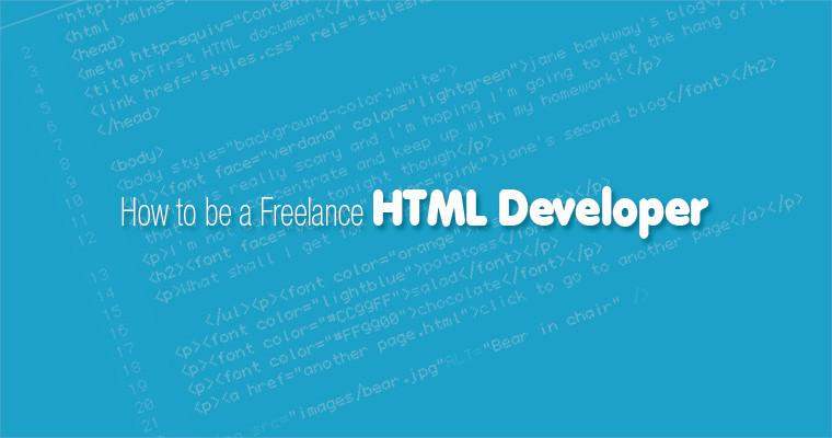 Freelance HTML Developer