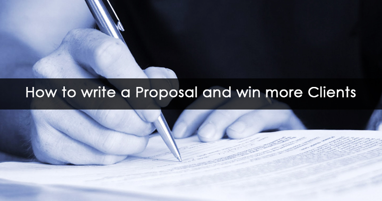 how to write a proposal and win more clients