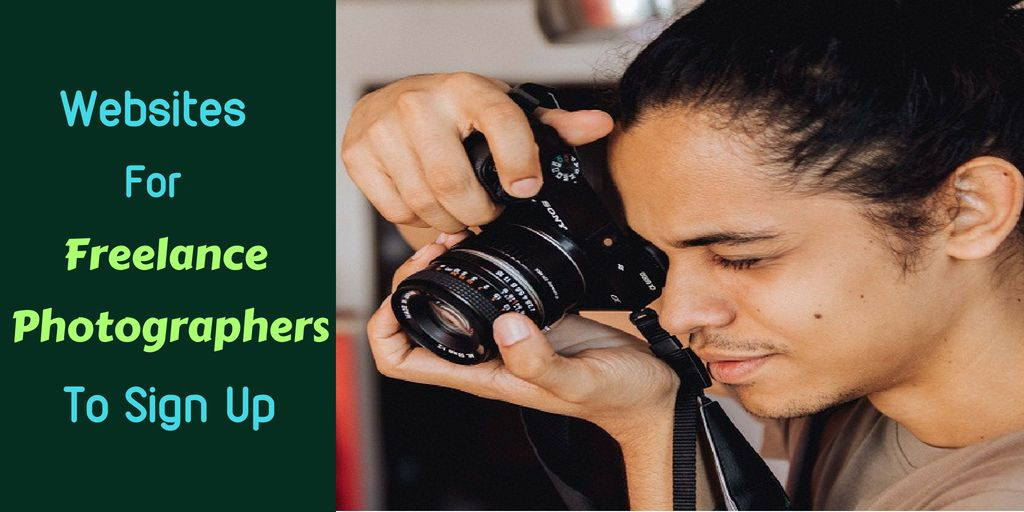 Websites For Freelance Photographer To Sign Up