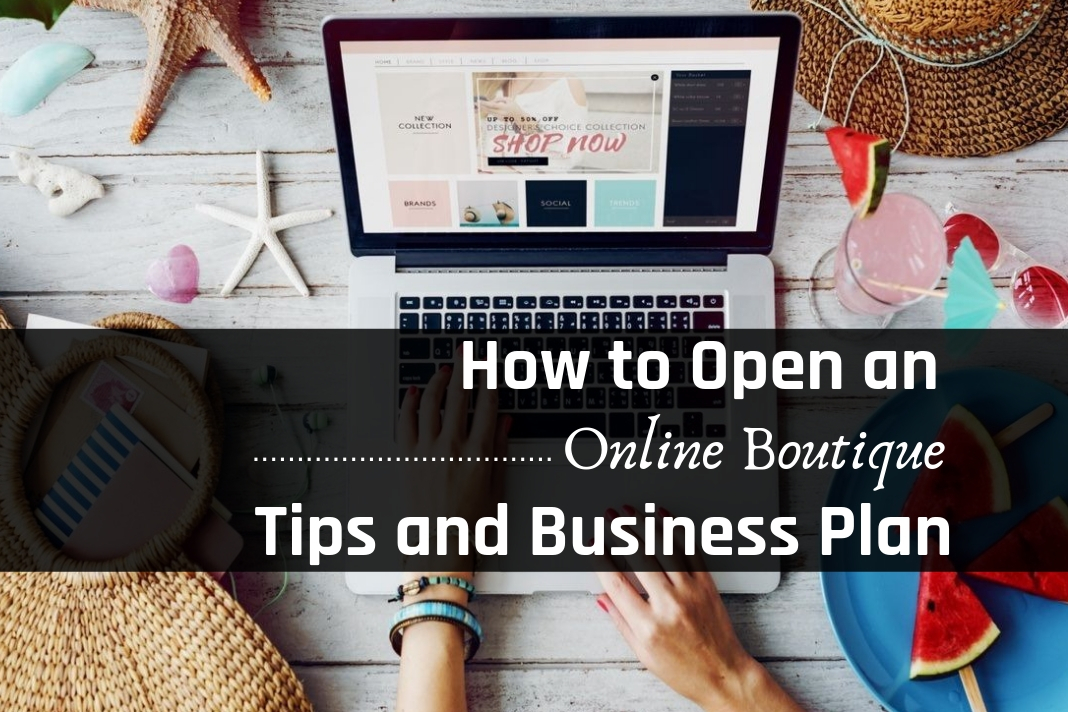 how to open an online boutique