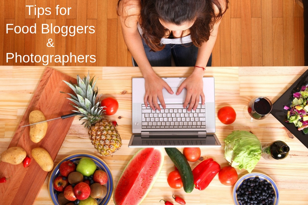 steps for food bloggers and photographers