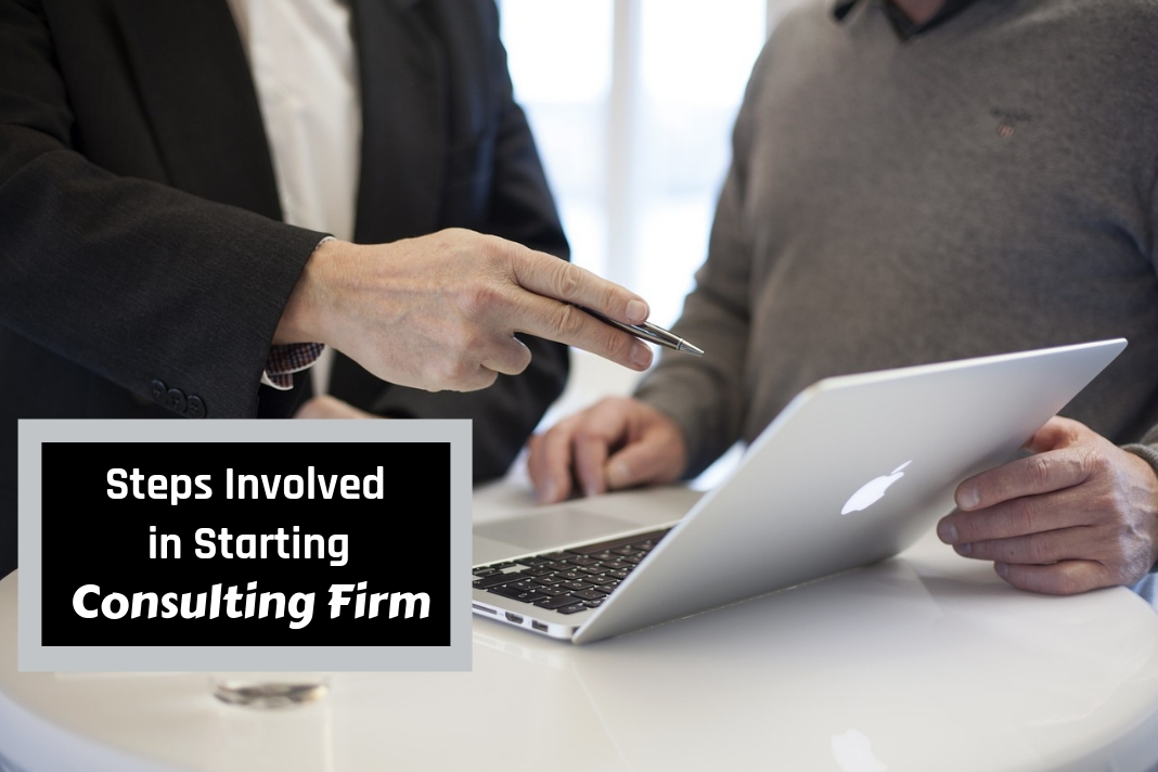 steps involved in starting consulting firm