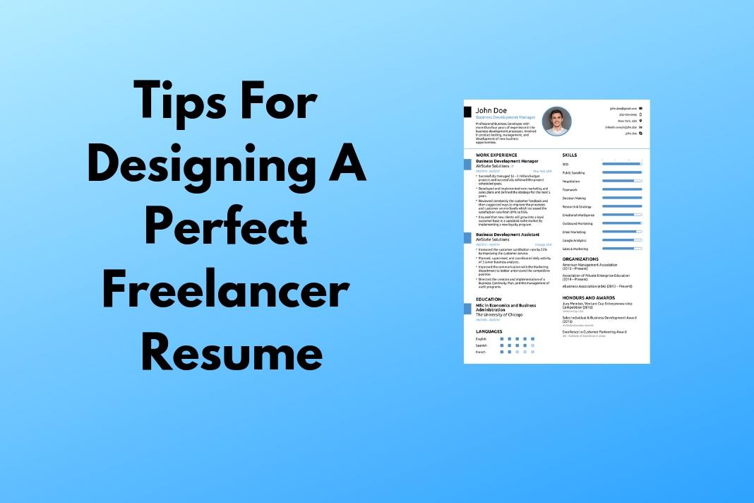 Freelancer Resume