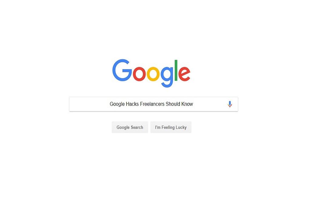 google hacks freelancers should know