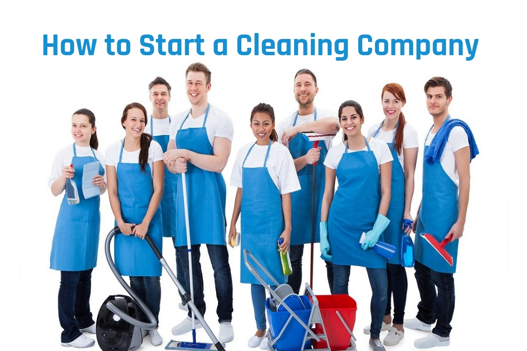 how to start cleaning company