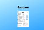 resume for freelancer