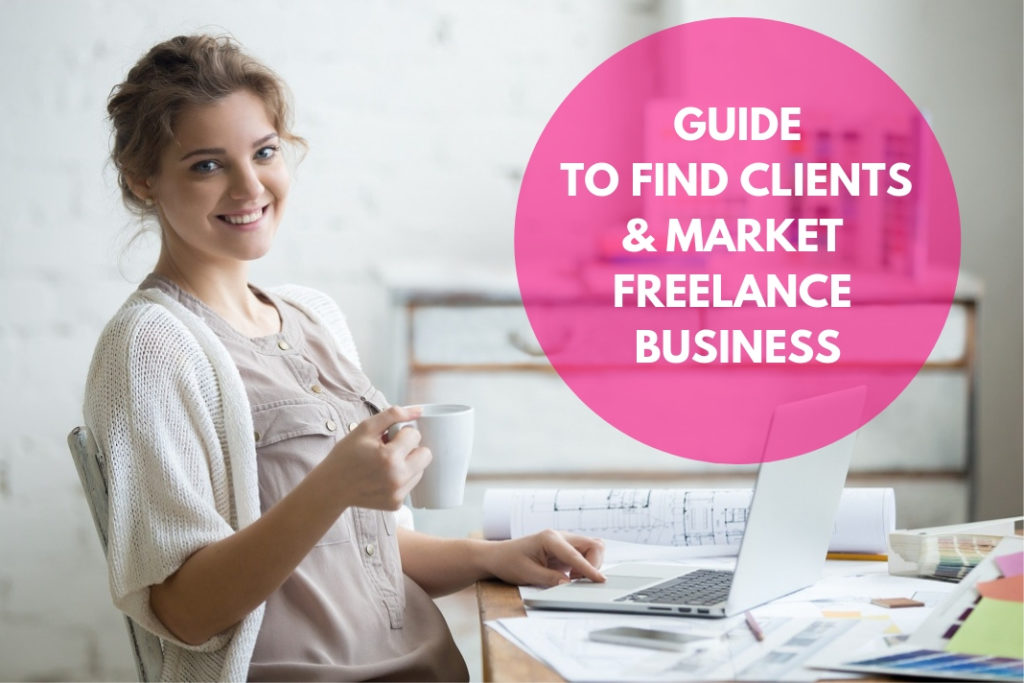 find clients & market freelance business