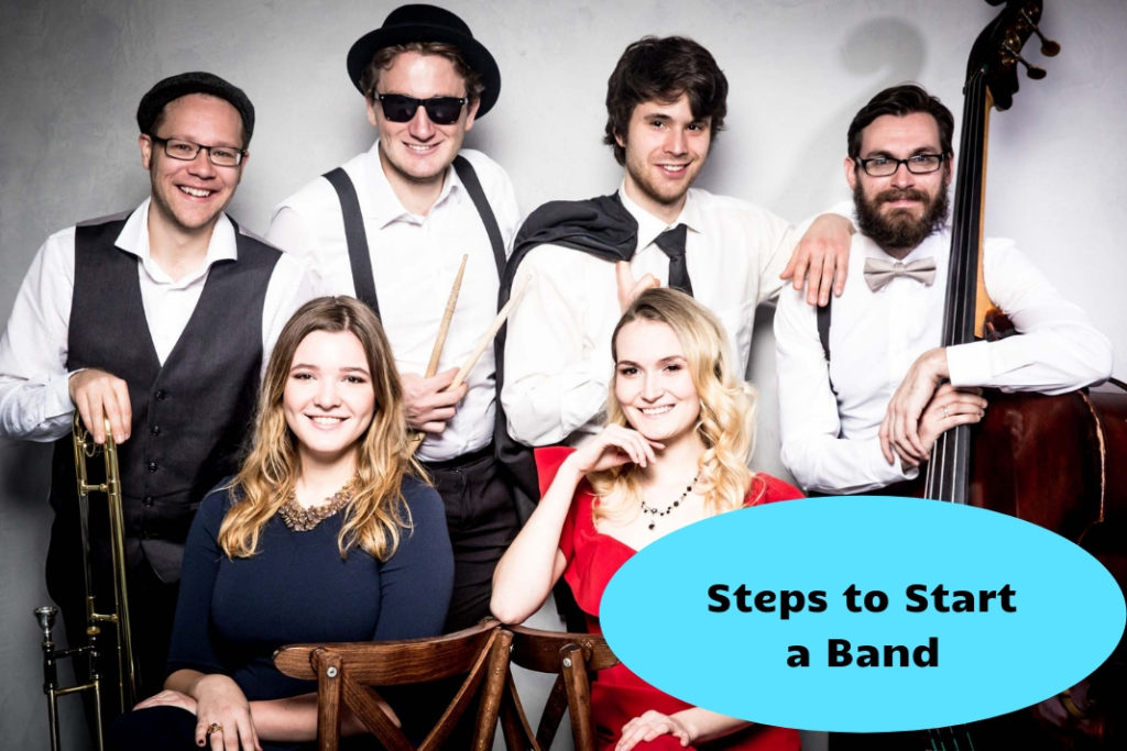 Steps to Start a Band
