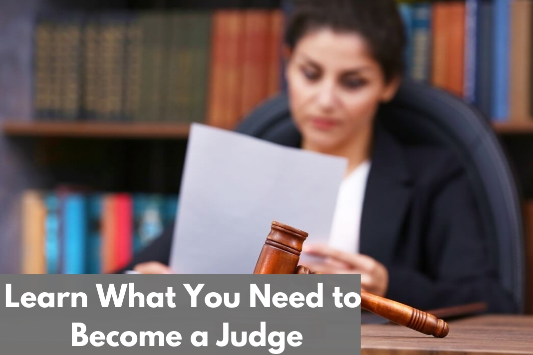 Learn What You Need to Become a Judge