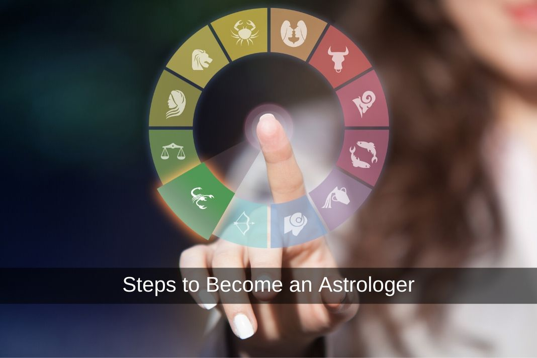 steps to become an astrologer