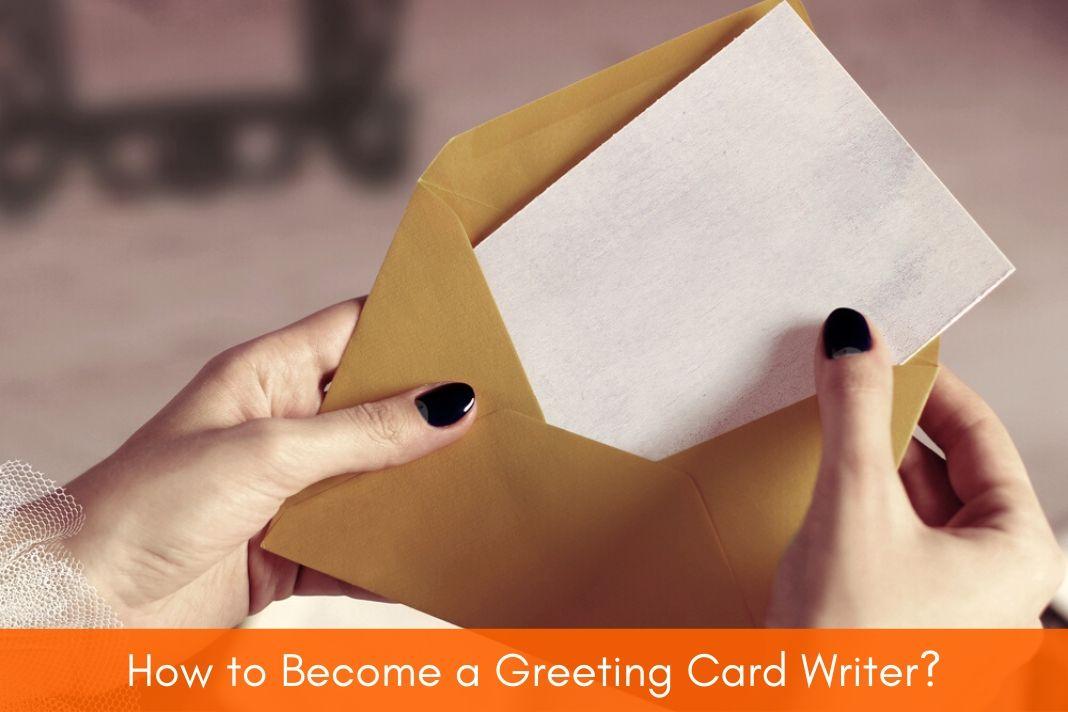 greeting card writer
