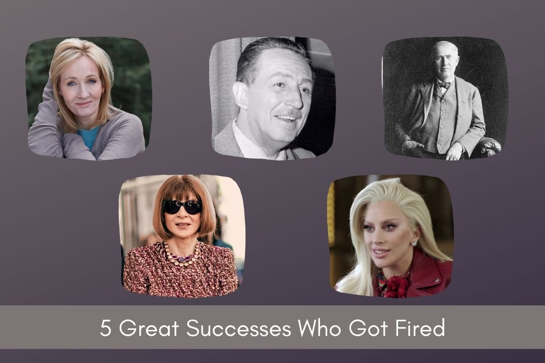 People Who Were Fired Before They Became Successful
