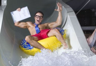 how to become a water slide tester