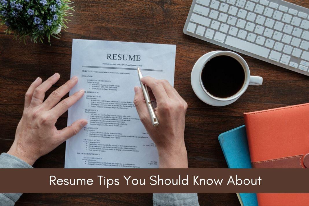 resume tips-