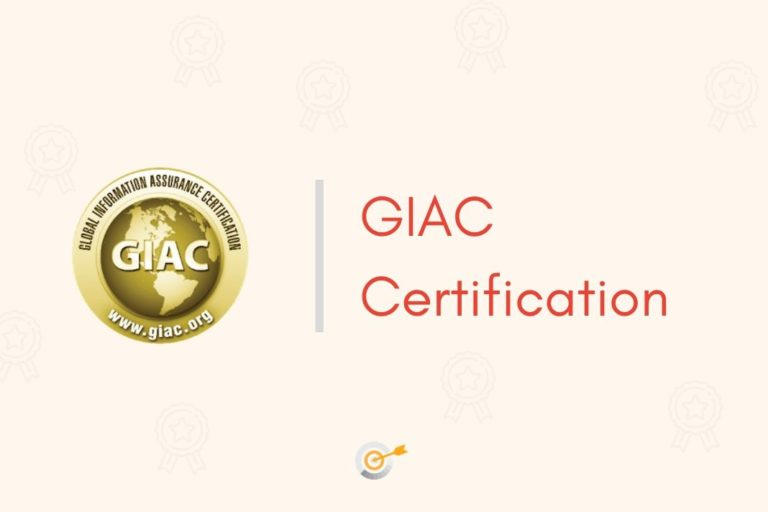 certification giac overview
