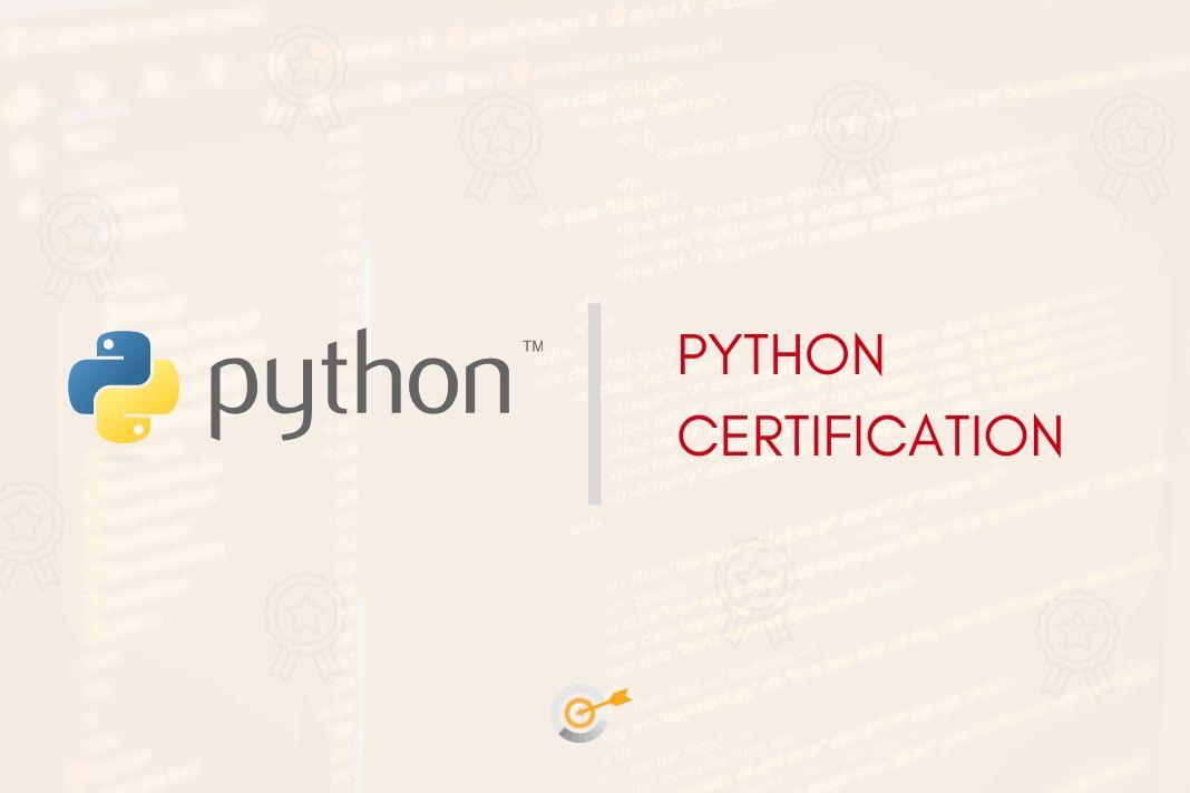 python cert