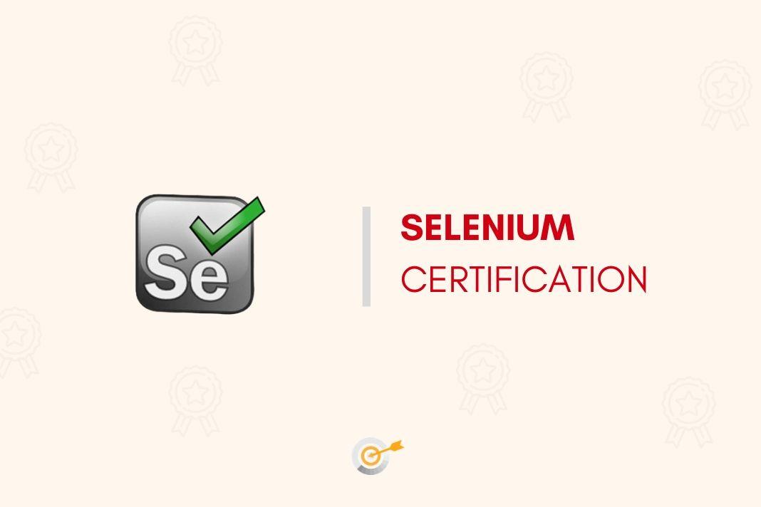 selenium cert