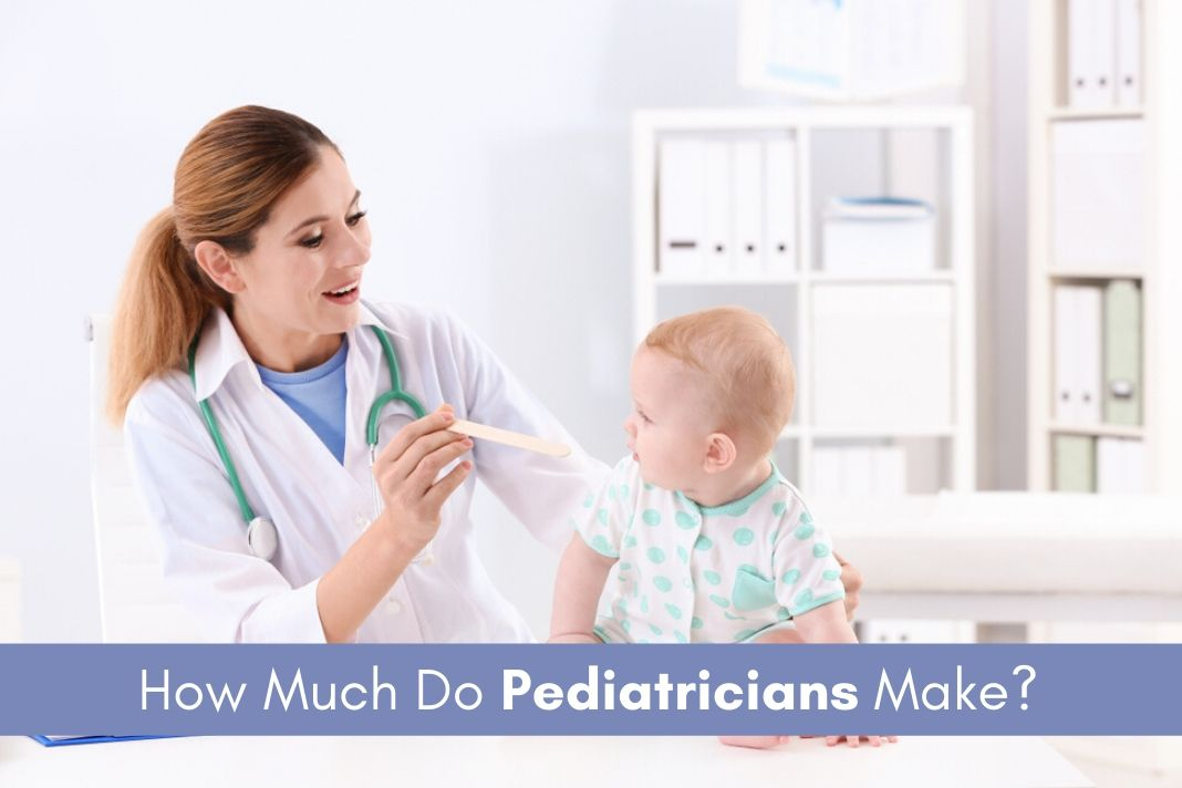 pediatricians salary