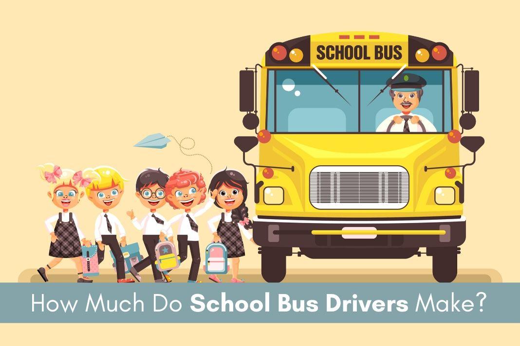 school bus drivers salary