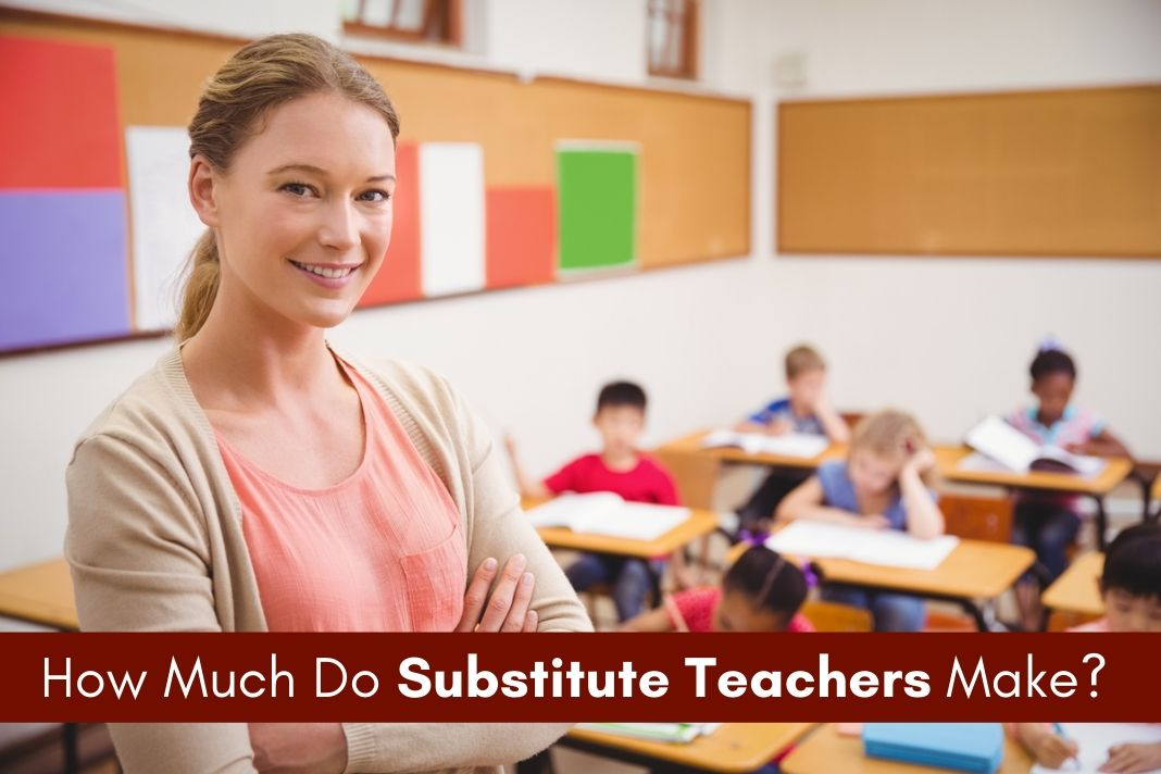 substiture teachers salary