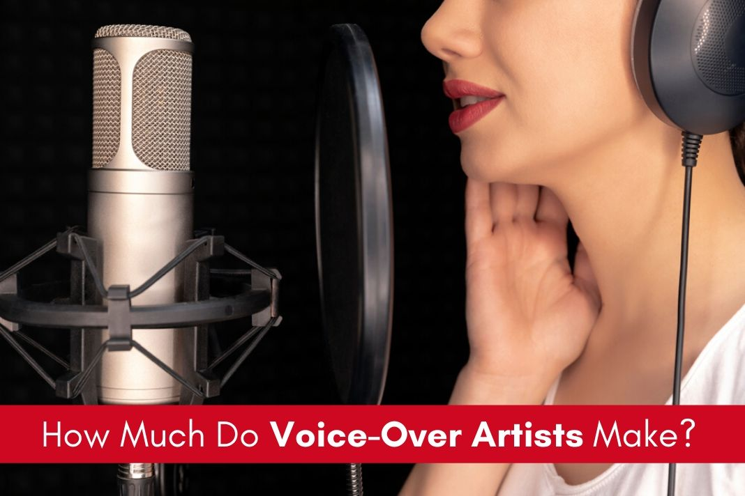 voice over artists salary