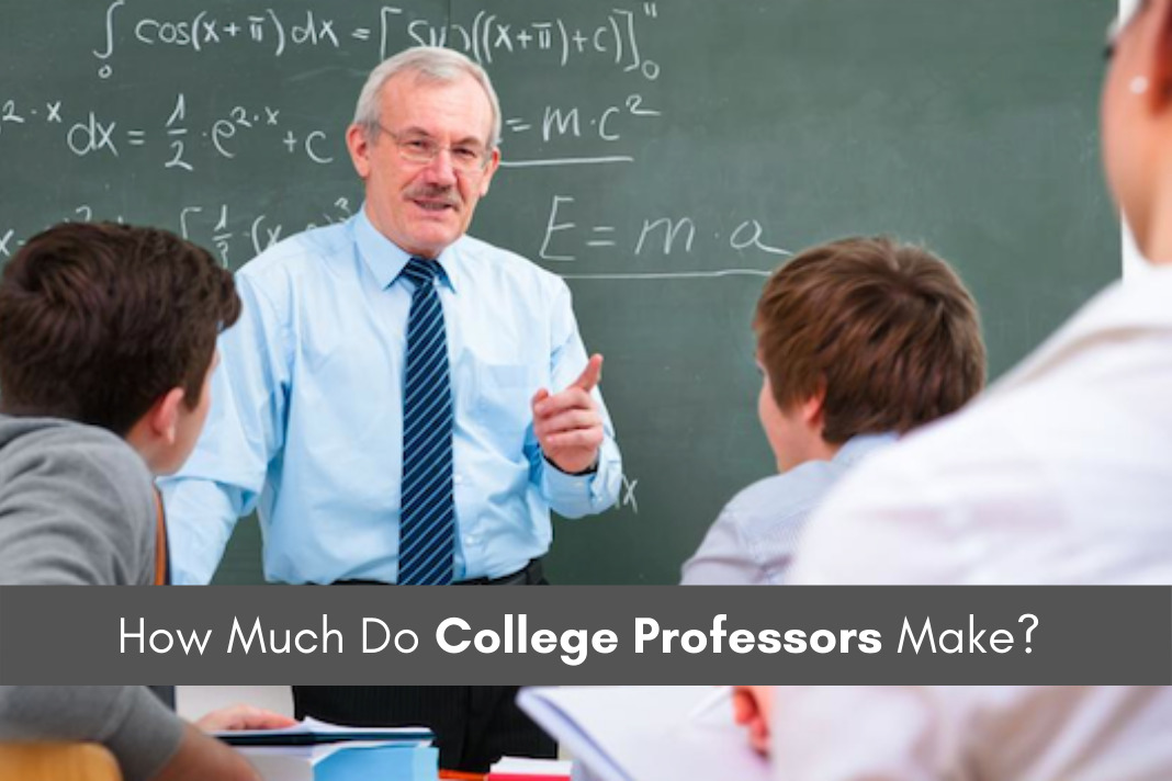 How Much Do College Professors Make