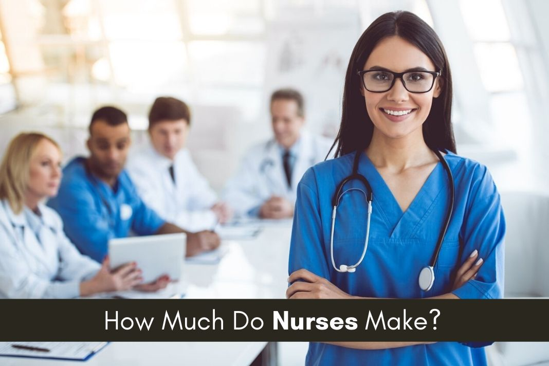 nurses salary