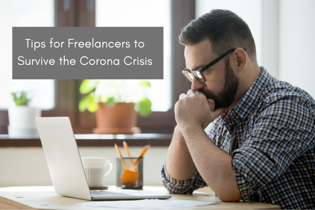 Tips for freelancers to survive corona crisis